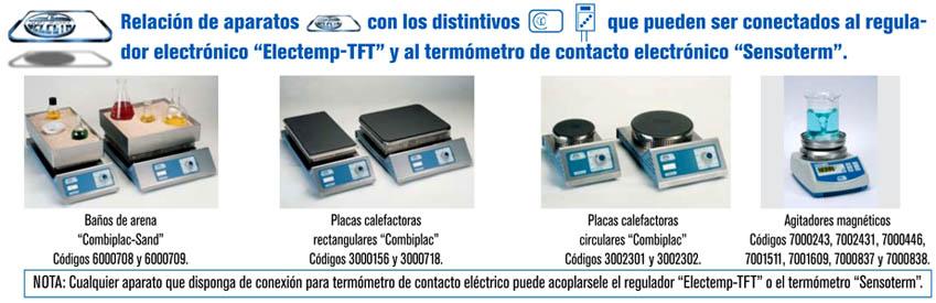 Banos Tft.Regulador Electronico De Temperatura Electemp Tft Dilabo
